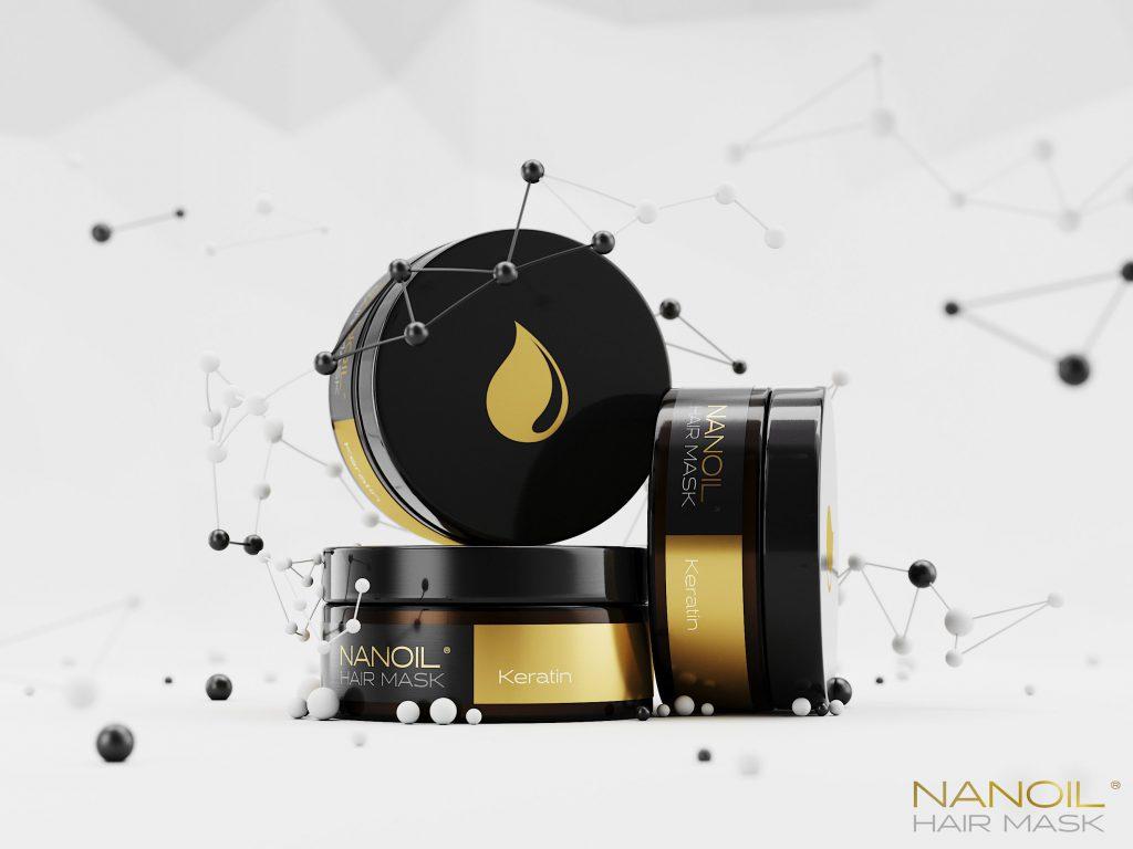 Nanoil keratiininaamarit